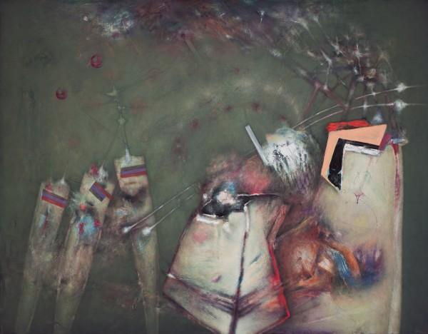 Benito Marcos Crehuet, Interior de un marco temporal, 2014 | Ir al evento: 'Benito Marcos Crehuet'. Exposición de Pintura en Espacio Ronda / Madrid, España