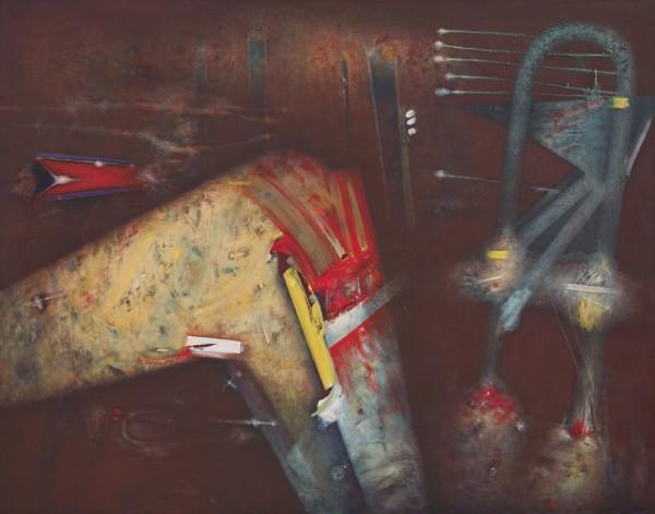 Benito Marcos Crehuet, Charca gris del cerebro, 2015 | Ir al evento: 'Benito Marcos Crehuet'. Exposición de Pintura en Espacio Ronda / Madrid, España