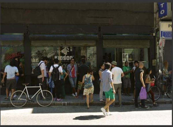 KIOSCO | Ir al evento: 'Kiosco'. Exposición de Artes gráficas, Artesania, Fotografía en Centro Cultural de España - CCE Montevideo / Montevideo, Uruguay