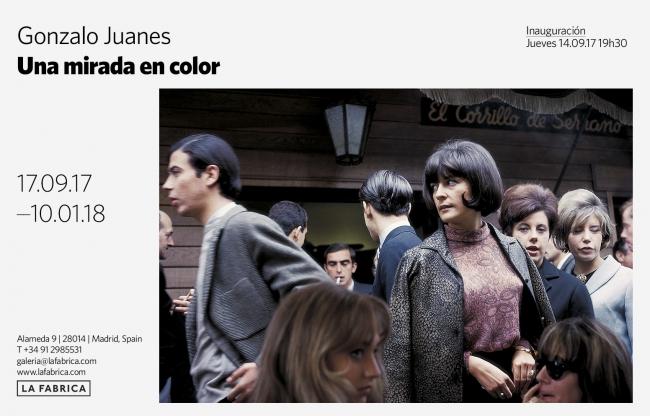 Gonzalo Juanes. Una mirada en color