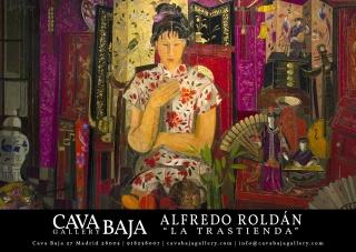 """Alfredo Roldán """"La Trastienda"""" El proceso creativo de un cuadro."""