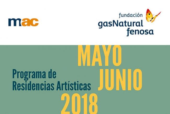 Programa de Residencias Artísticas Mayo Junio 2018
