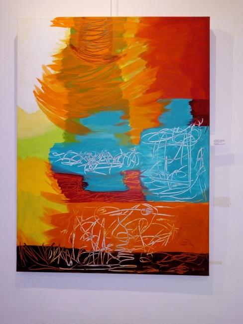 Una de las obras de Ana María Donato