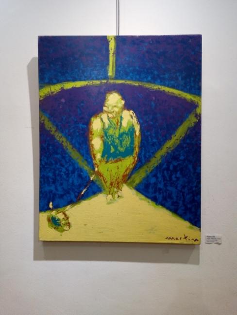 Una de las obras de Pepe Marquéz