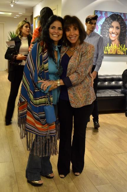 Carla Mourão e Thereza Collor