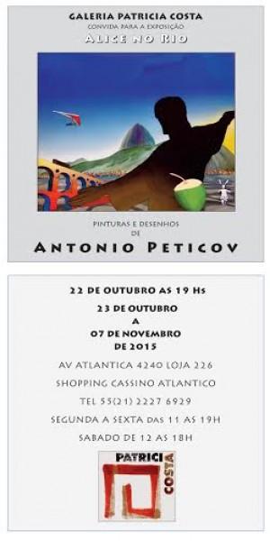 Antonio Peticov, Alice no Rio