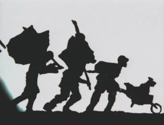 William Kentridge, Shadow Procession (1999)