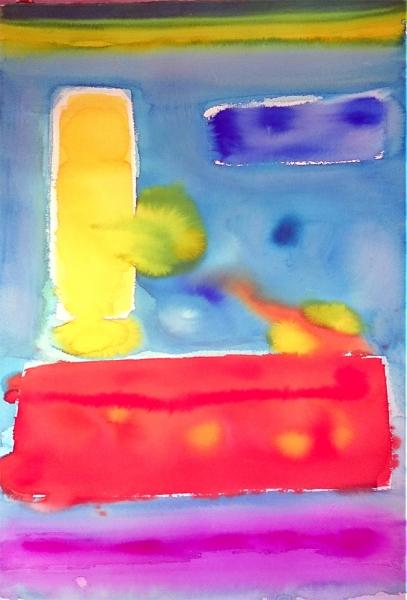 Fernando Barrionuevo | Ir al evento: 'Abstracciones'. Exposición de Pintura en Conventual Santiaguista / Calera de León, Badajoz, España