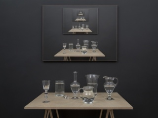 Miguel Ángel Gaüeca. Glass Table