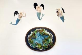 Imagen de la exposición de Paula Rego e Adriana Varejão