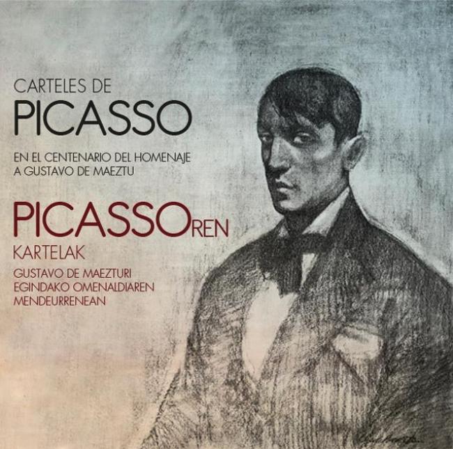 Carteles de Picasso. En el centenario del homenaje a Gustavo de Maeztu