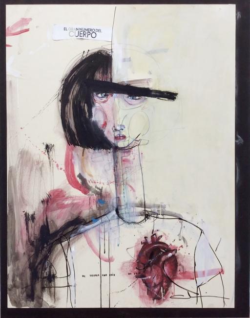 El gran número del cuerpo | Ir al evento: 'De tripas corazón'. Exposición en Apo'strophe Sala de Arte / Vigo, Pontevedra, España