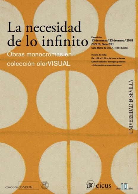 La necesidad de lo infinito. Obras monocromas en colección olorVISUAL