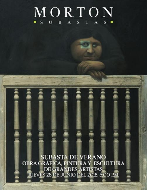 Subasta de Verano. Obra Gráfica, Pintura y Escultura de Grandes Artistas