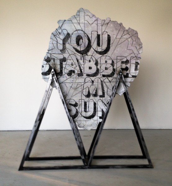 Ivan ARGOTE, You Stabbed My Sun, 2014