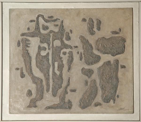 Willi Baumeister, Gilgamesch und Enkidu (Gilgamesh et Enkidu), 1943, Archiv Baumeister im Kunstmuseum Stuttgart