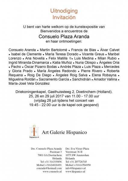 Consuelo Plaza Aranda y sus Encuentros