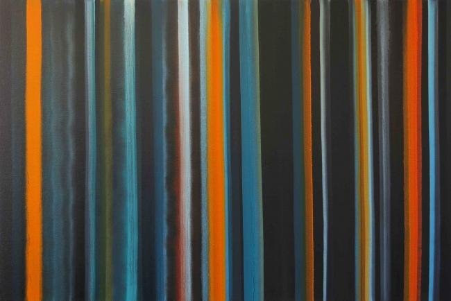 Victor Pérez-Porro – Cortesía de Quiosc Gallery | Ir al evento: 'Grid & Lines 2'. Exposición de Pintura en Quiosc Gallery / Tremp, Lleida, España