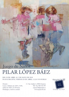 Pilar López Báez. Juego de niños
