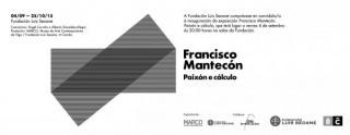 Francisco Mantecón. Paixón e cálculo