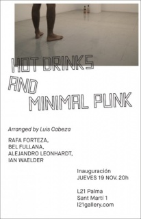 Hot drinks and minimal punk