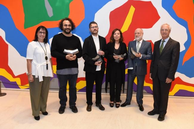 Foto ganadores. Cortesía La Caixa | Ir al evento: 'Premios Arte y Mecenazgo 2017'. Premio