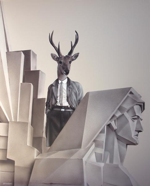 Espíritu autóctono | Ir al evento: 'Gisela Banzer'. Exposición de Pintura en Museo de Arte Contemporáneo Latinoamericano (MACLA) / La Plata, Buenos Aires, Argentina