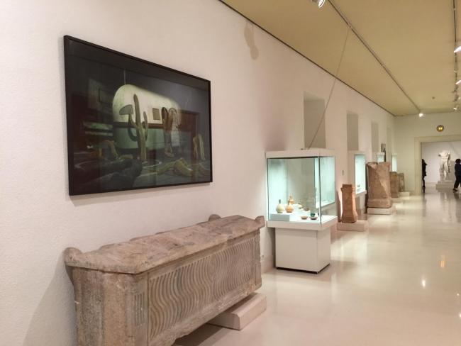 Vista de la exposición Contratación/Pentecostés – Cortesía de la Diputación Provincial de Cádiz