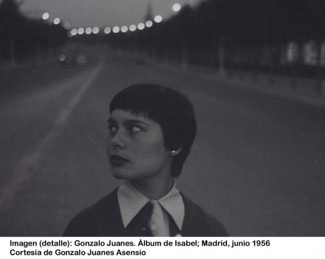 Gonzalo Juanes. Álbum de Isabel; Madrid, junio 1956 (detalle) — Cortesia de Gonzalo Juanes Alonso - Cortesía del Museo Nacional Centro de Arte Reina Sofía