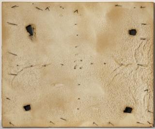 Antoni Tàpies — Cortesía de Barcelona Gallery Weekend