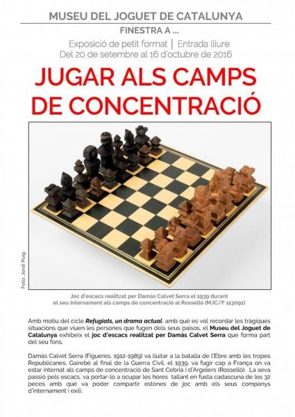 JUGAR ALS CAMPS DE CONCENTRACIÓ
