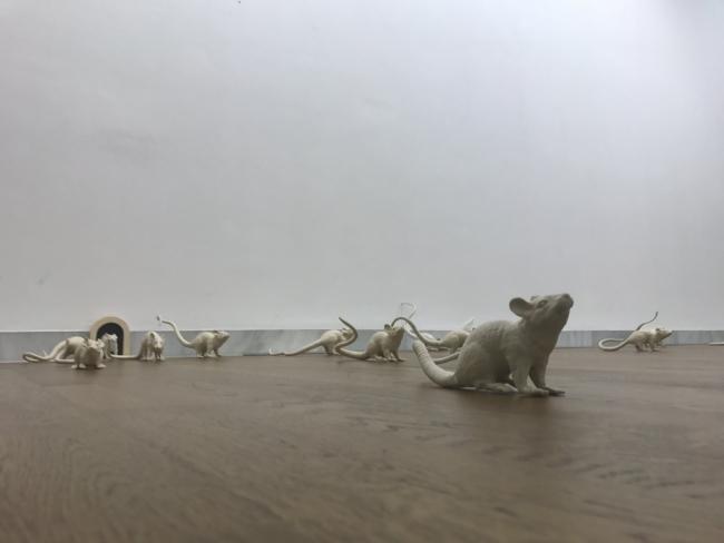 sala 1 | Ir al evento: 'Rey de Ratas'. Exposición de Escultura en Espacio Santa Clara / Morón de la Frontera, Sevilla, España
