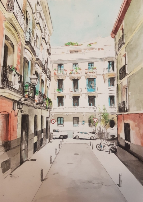 San Gregorio | Ir al evento: 'Carmen Macho'. Exposición de Pintura en Belén Artspace / Madrid, España