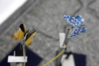 Fernando Palma Rodríguez. Papalutzin. 2011. Microcontrollers, light sensors, electronic sensor and aluminum. Image courtesy the artist and House of Gaga, Mexico City. Cortesía del MoMA
