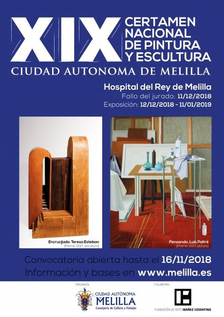 XIX Certamen Nacional de Pintura y Escultura Ciudad de Melilla