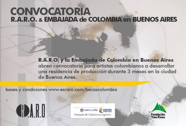 Beca R.A.R.O. y Embajada de Colombia en Buenos Aires