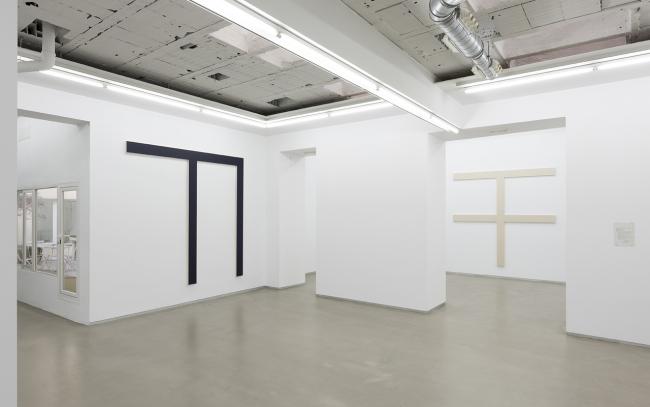 Vista de la exposición – Cortesía de la galería Parra & Romero
