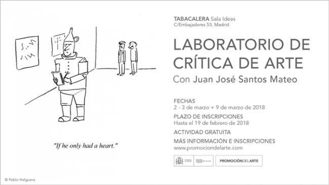 Laboratorio de Crítica de Arte. Con Juan José Santos Mateo