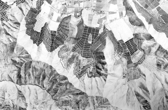 Deformar el paisaje. Imagen cortesía Galería BECH
