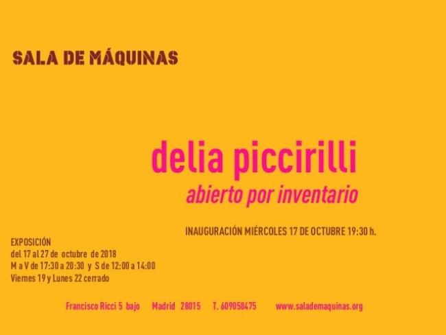 Delia Piccirilli. Abierto por inventario