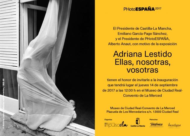 Invitación | Ir al evento: 'Ellas, nosotras, vosotras'. Exposición de Fotografía en Antiguo Convento de la Merced - Museo de la Merced / Ciudad Real, España