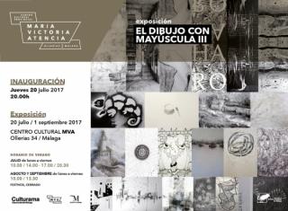 EL DIBUJO CON MAYÚSCULA III