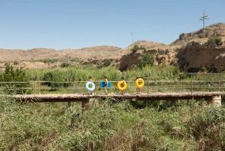 autor, Paco Llop. 'El riu invisible' exposición I Beca Fragments – Cortesía de la Unió de Periodistes Valencians