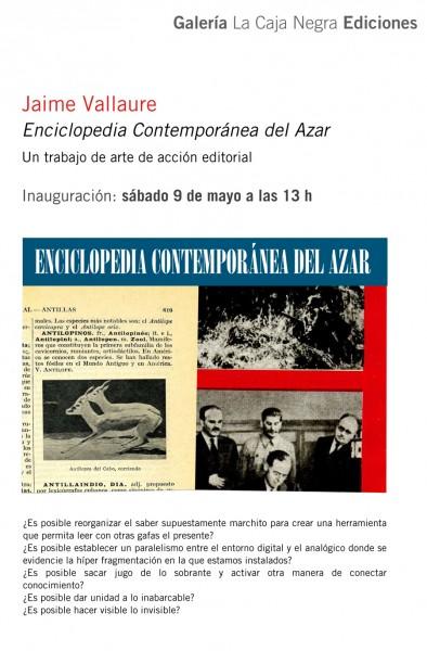 Jaime Valaure, Enciclopedia Contemporánea del Azar