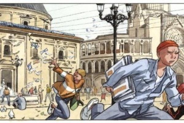 Valencia en el cómic
