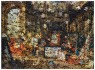 Vik Muniz, Gordian Puzzles: Europa, After Jan Van Kessel the Elder, 2009, papel, ed. 6, 100 x 140 cm. 39.37 x 55 in.