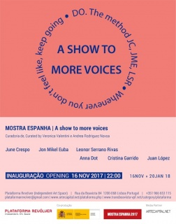 Mostra Espanha. A show to more voices