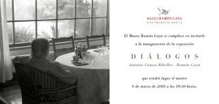 Diálogos: Antonio Gómez Ribelles - Ramón Gaya