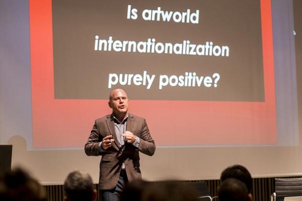 Marc Spiegler, Art Basel Global Director at TALKING GALLERIES 2015