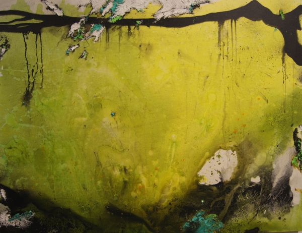 Fernando Palacios_Incognita Natura, Nº 11. 100X130. Mixta-lienzo (2016) | Ir al evento: 'JustMad 2017'. Feria de arte en Fundación Coam (Colegio Oficial de Arquitectos de Madrid) / Madrid, España